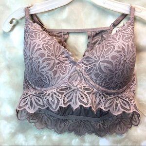 Women Pink Victoria Secret brassiere, size L